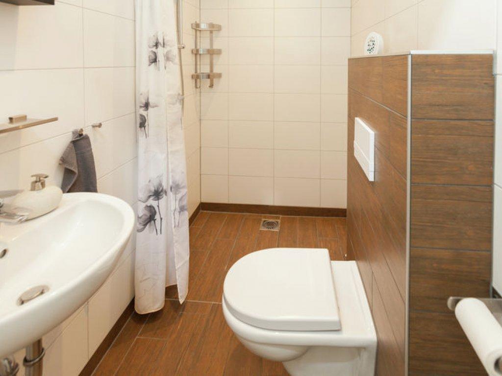 Douche/toilet