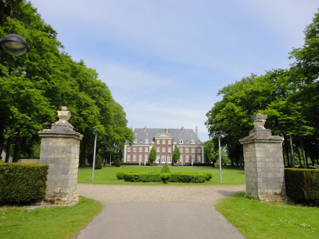 Castle of Pietersheim in Lanaken, near Rekem.