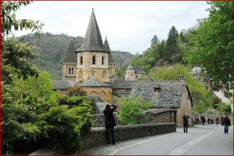 Conques, voor ieder wat. Een prachtig middeleeuws dorp.